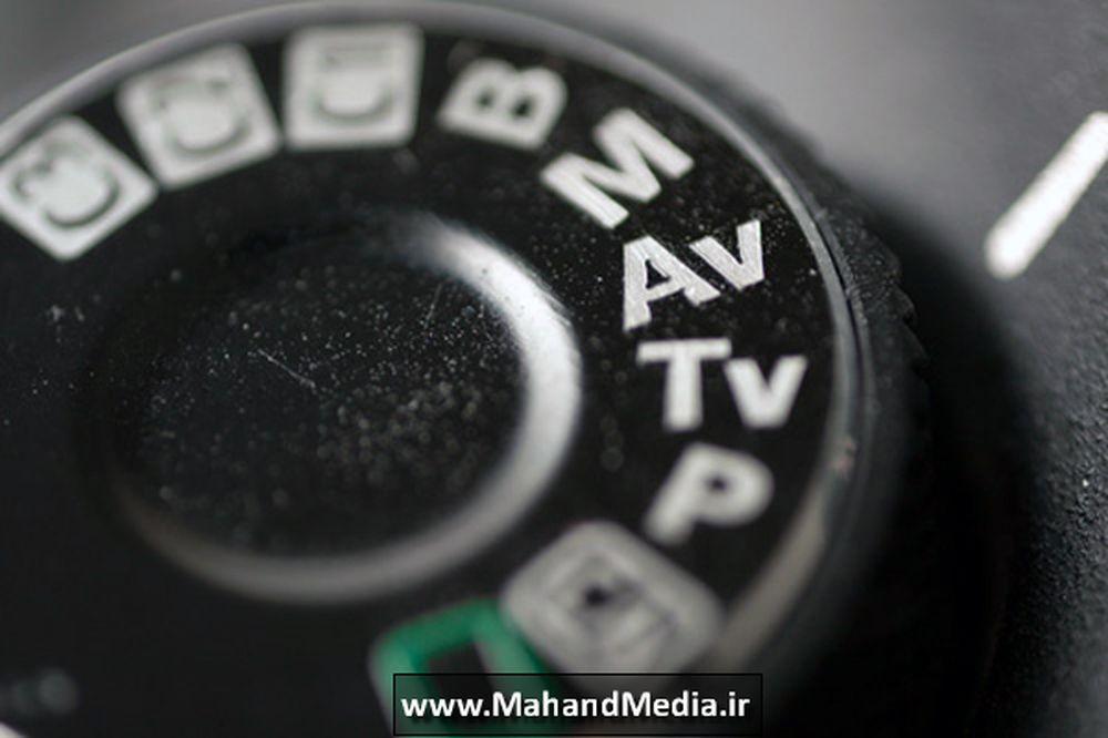 تنظیمات دیافراگم در دوربین عکاسی