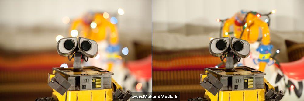 تنظیم دیافراگم و تاثیر آن در عمق میدان دوربین عکاسی