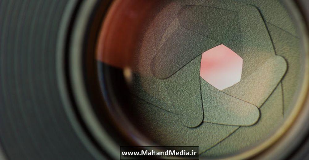 پره و تیغه های دیافراگم لنز دوربین